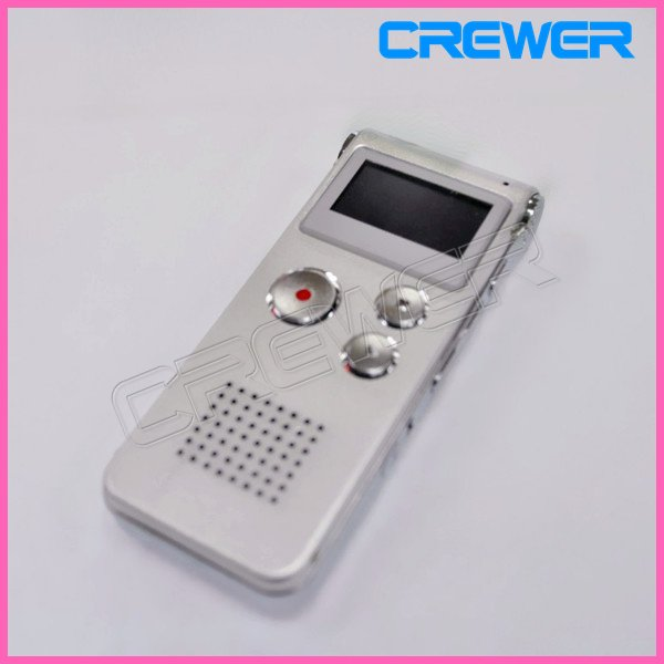 2012 New 8GB Digital Voice Audio Telephone Recorder MP3 Playing function Free shipping with retail box