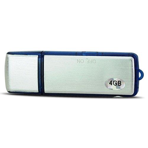 Mini 4GB USB 2.0 Flash Drive Digital Voice Recorder Flash Blue
