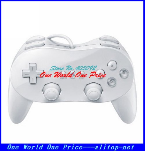 New Video Game Classic Controller Pro for Nintendo Wii