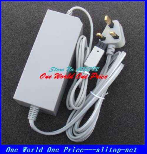 AC Wall Adapter Power Supply For Nintendo Wii Console