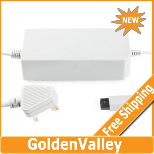 $10 off per $300 order UK Version AC Adapter for Wii (White)