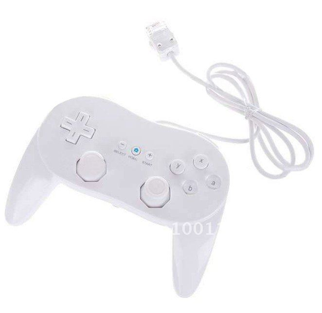 Grip Style Classic Controller for Wii White