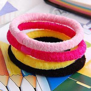80pcs Cute Mixed Colourful Stylish Hair Band Clips 8332