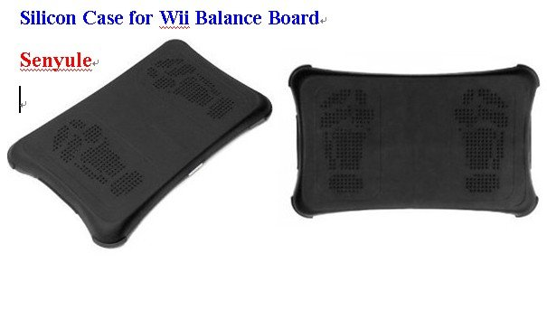 Silicon Case Skin Cover for Wii Fit Balance Board Protectors
