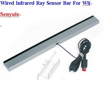 Brand NEW WIRED INFRARED RAY SENSOR BAR FOR NINTENDO WII Remote