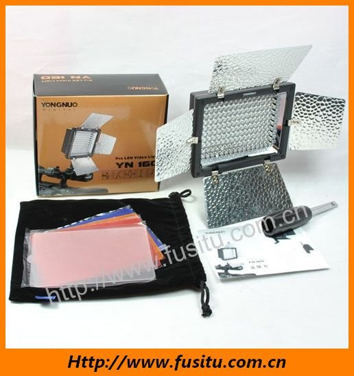 Hot Sale!!! Free Shipping  YONGNUO YN160 YN-160 LED Video Light for  DSLR Camera  /DV Camcorder