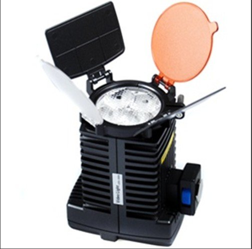new 4 LED LED-5005 professional Video Light for DV Camcorder with 4200mAh NP-F750 battery