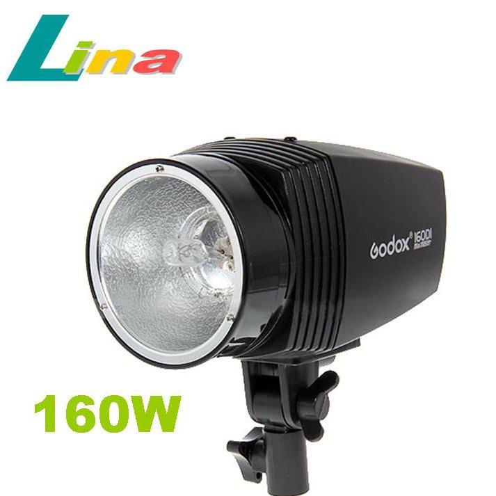 Free Shipping Photo Studio Mini Strobe Flash Light 160DI 160W 43GN Stepless Power Control Anti-preflash System