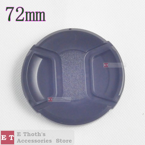 wholesale/free shipping for 72mm Lens Cap for All brand cameras & digital camera dslr