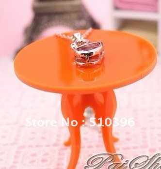Free shipping Photography props Shooting Table Mini small Round Table Jewellery Ornaments Display Rack Many colors.
