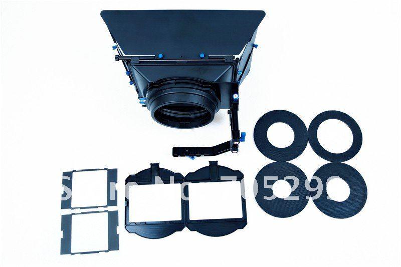 Wondlan Sniper 2.0 Professional Edition Matte Box for 15mm rod support system DSLR rig Video shooting