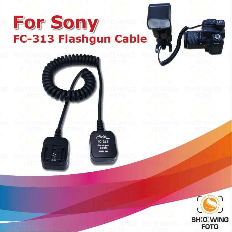 2012 Pixel 1.8m  flashgun TTL cable for Sony promotion now!