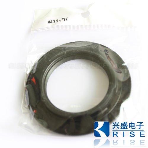 Leica JUPITER M39 39mm Lens to PENTAX PK MOUNT ADAPTER  K20D K10D K200D K100D K-X Adapter