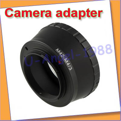 Free Shipping !!M42 lens to Micro 4/3 M4/3 adapter G1 GF1 GH1 E-P2 E-P1 For Camera Kamera Mount