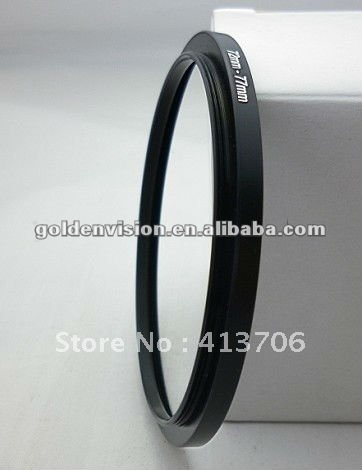 STEP-DOWN LENS ADAPTER RING 43-37 43MM TO 37M FOR DSLR