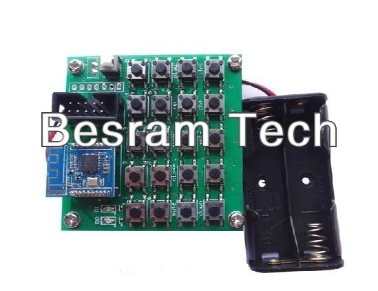 NRF24LU1+NRF24LE1 wireless experimental board communication test suite