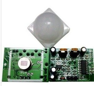 3pcs HC-SR501 Human IR sensor module Pyroelectric Infrared Detector PIR Motion