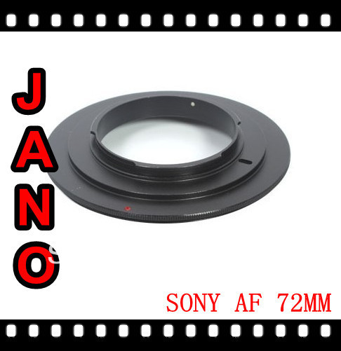 JANO FREE SHIPPING 72mm Macro Reverse Adapter Ring For Sony AF MOUNT