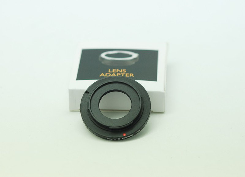 lens adapter ring c-fx for camera