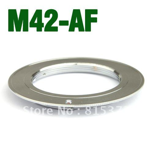 M42 Lens for Minolta MA for SONY for Alpha A55 A33 A560 A580 Mount Adapter silver DEC1198 Free Shipping