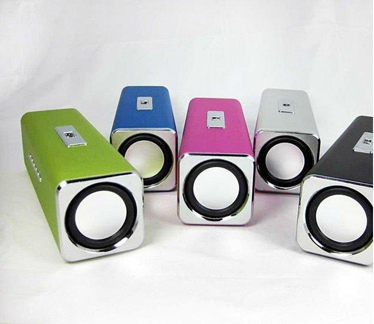 MINI Sports MP3 Speaker FM Portable Sound box Boombox with TF Card reader USB