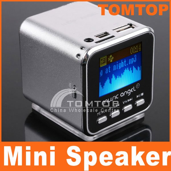 Micro SD TF USB Mini Stereo Speaker Music MP3 Player FM Radio  Free Shipping Dropshipping