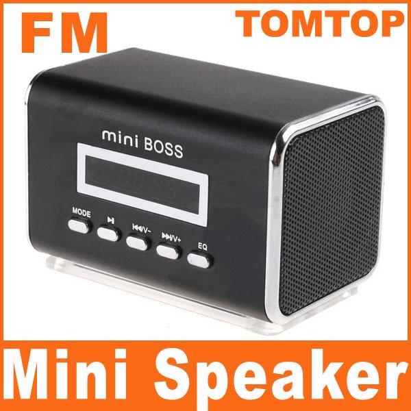Mini  Portalbe MP3  Speaker Micro SD TF Card USB Disk with FM Radio V369B Free Shipping Dropshipping 5pcs/lot