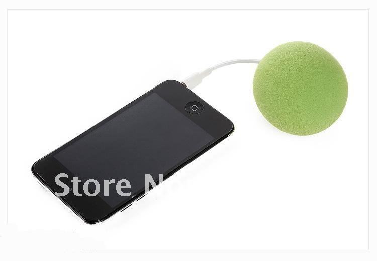 Promotion 200pcs DHL Free Shipping Multi-Color Creative Music Balloon Mini Speaker, Cute Music Ball for MP3 MP4 Cell Phone