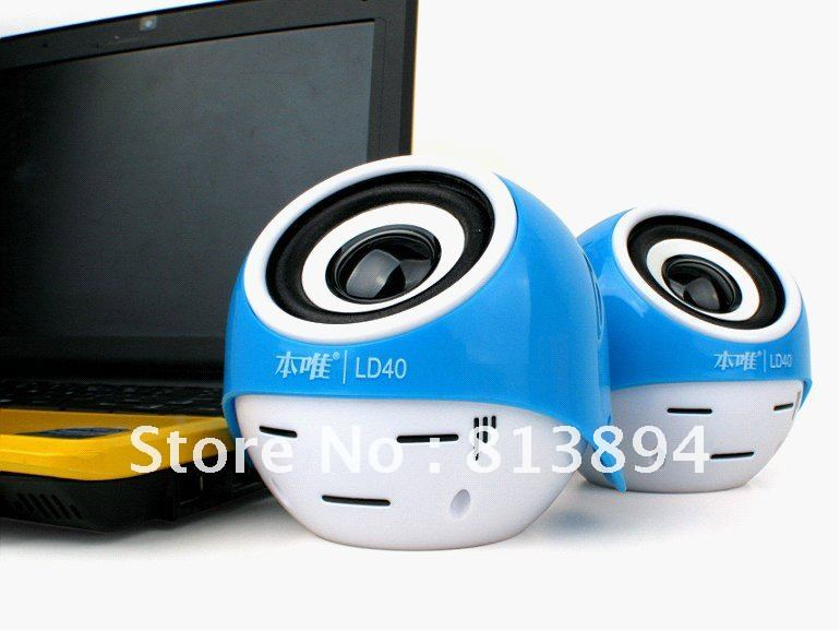 USB2.0 mini speaker sound box perfect sound for PC/cellphone with free shipping service