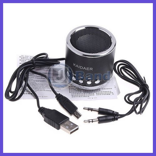 Mini Portable Speaker Audio Amplifier for Mobile Phone Laptop MP3 MP4 Player PC Speaker