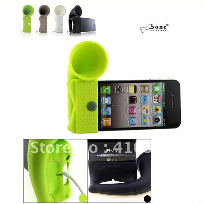 Horn Stand for iPhone4 Bone Collection Amplifier(Color random)
