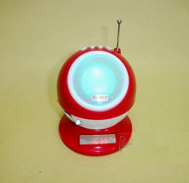 Free Shipping + 1PC WS2013 Mini Speaker Portable Speaker Indoor Party Disk Speaker High Quality!
