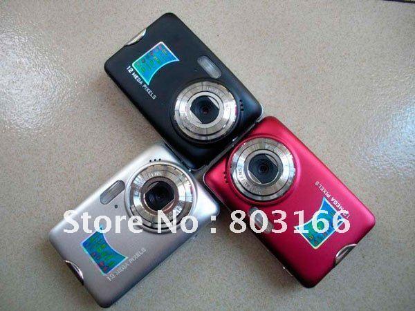 2.7 inch LCD Screen Digital camera 12MP(Max) 8X Zoom Anti-shack DC520