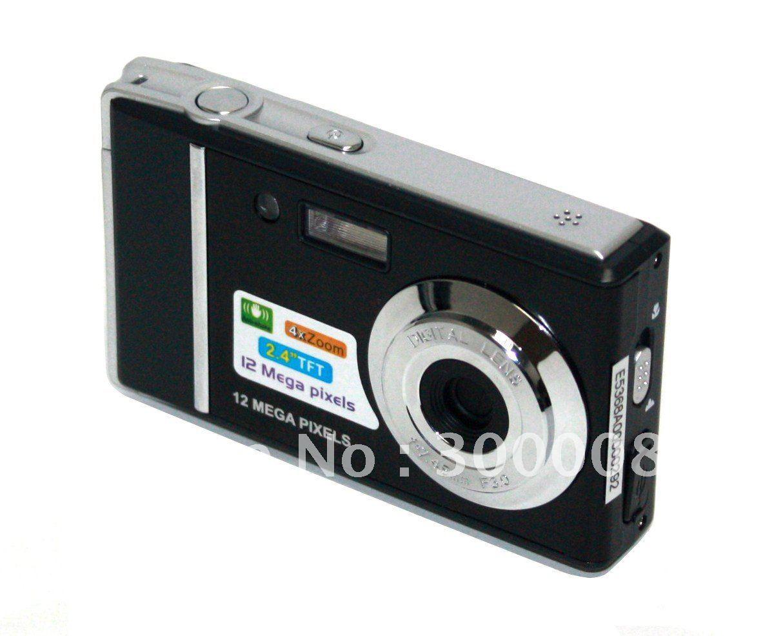 "Vivikai's Good quality and cheap price, 12MP digital photo camera with 2.4"" screen, 4Xdigital zoom"