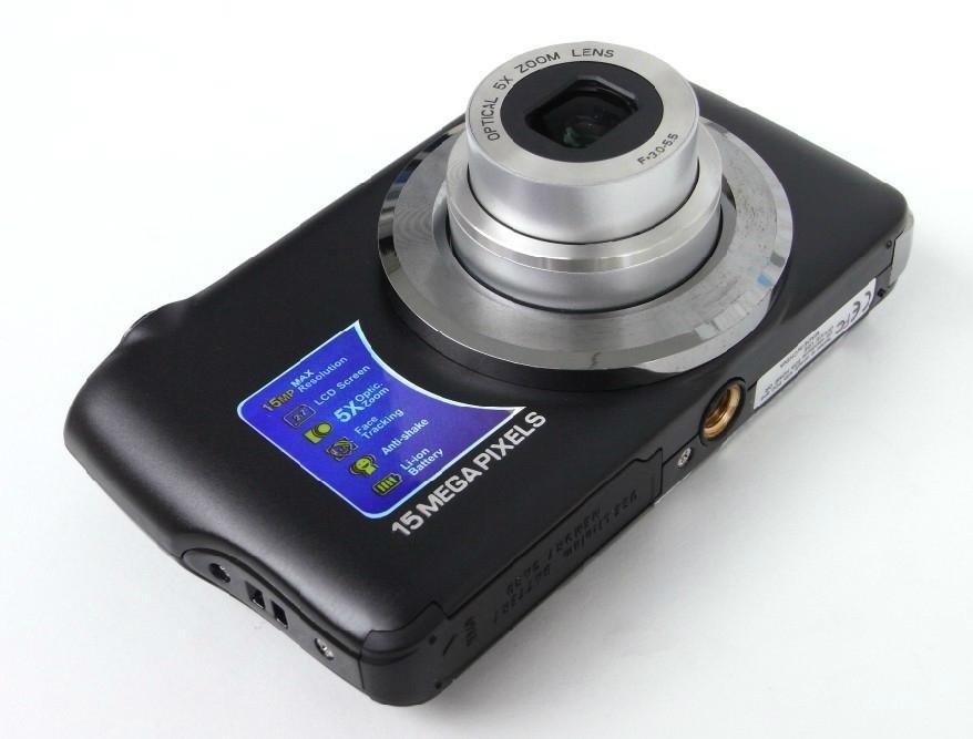"15.0Mega pixels Waterproof Digital Camera with 2.7"" TFT Screen Free shipping"