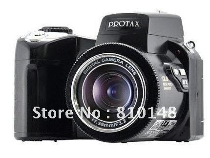 "HK post  DC black Color DC600 Digital Camera 2.4"" LTPS TFT LCD 270 Degree Rotation 8 X Digital Zoom PC HK post"