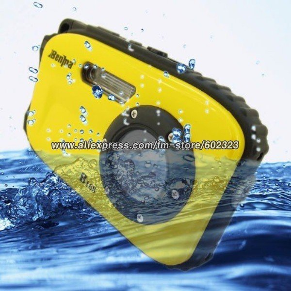 Specially Designed Waterproof 9.0 MP Digital Camera with 2.7 Inch LCD Screen DV B168
