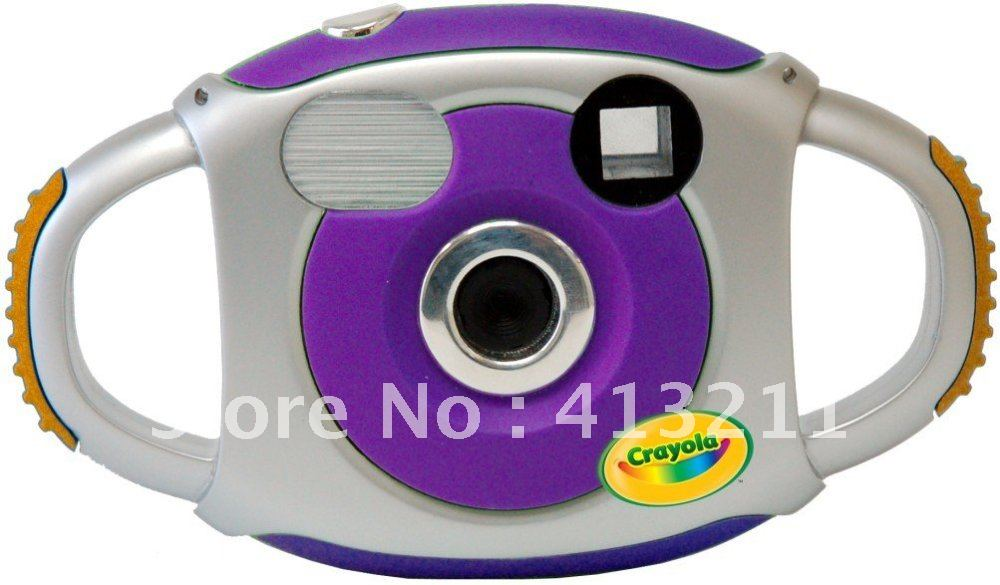 (DE130CD)Free shipping+Free camera bag gift+2.1Mega Pixel Digital Camera+1.3'' preview Screen+ Easy Grip Design for children