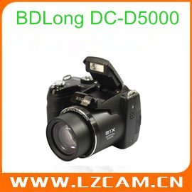 "16M CCD digital camera with 21X optical zoom and 3.0""color LCD BDLong DC-D5000"