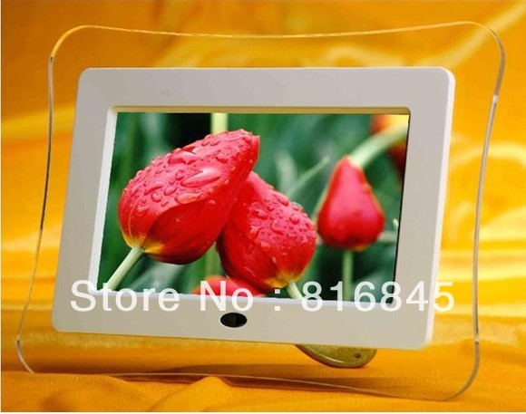 7 inch digital photo frame with mp3 (480 * 234) electronic album