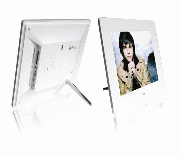 """8"""" multi-function TFT LCD digital photo frame Electronic picture frame 800*600 With MP3 MP4 Player   Remote Control HS-809"""