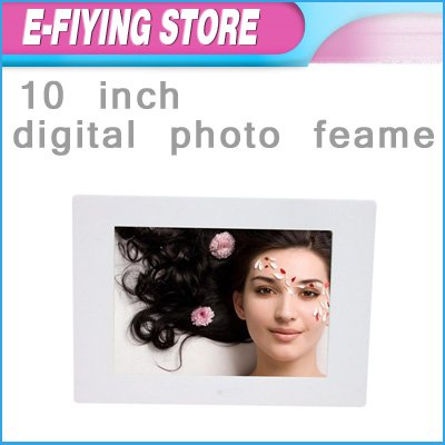 """Free Shipping 1pcs/lot 10inch Digital Photo Frame High Quality 10"""" Picture Frame Multifunction Digital Album with MP3 E-book"""
