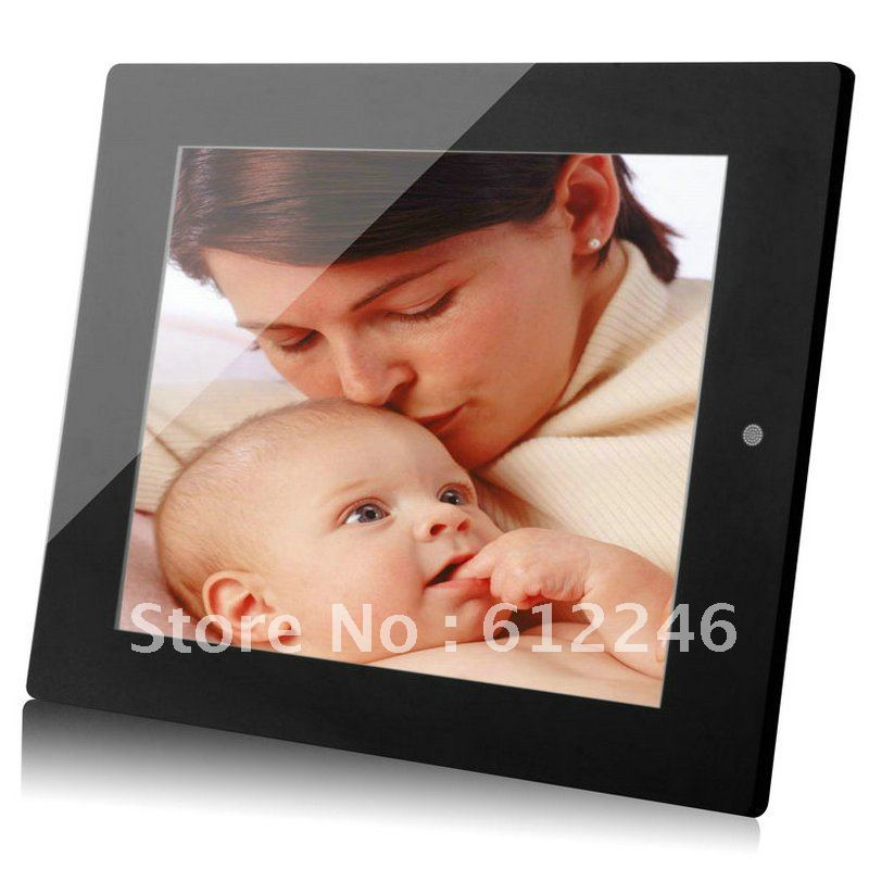 "10.4"" multi-function TFT LCD digital photo frame Electronic picture frame 800*600 With MP3 MP4 Player   Remote Control HBT1043"