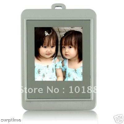 "New 1.5"" LCD Digital Photo Picture Frame w keychain 16MB"