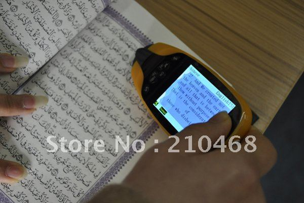 Free shipping Digital 2.4 inch screen Holy quran read pen with Holy quran book  16 pcs