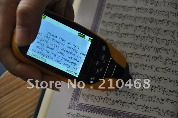 Free shipping Digital 2.4 inch screen Holy quran reader  with Holy quran book  16 pcs