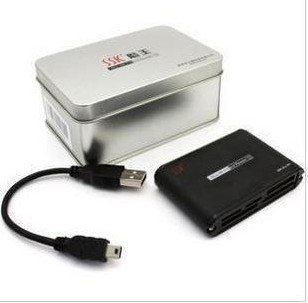 Free shipping Ssk card reader robot 3 scrm025 universal card reader aluminum alloy material