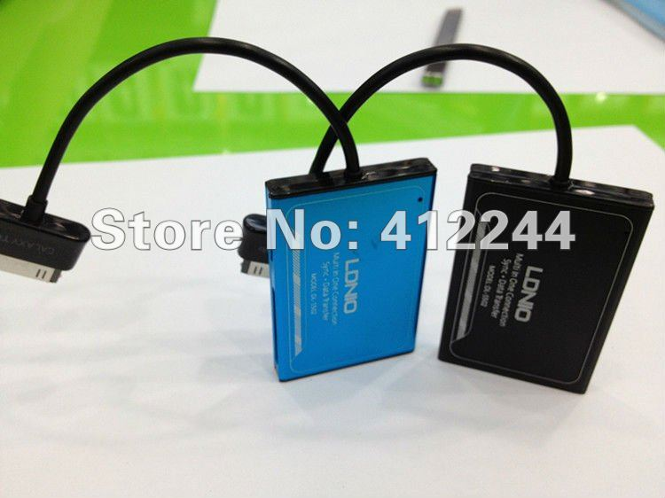 China post 5pcs DL-S502 support Samsung tablet computer pictures and music sync data transfer 2 colors