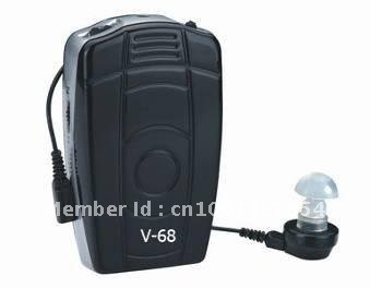 Hearing Aid V-68 ,CE,sound amplifier, voice amplifier, Telephone function,pocket hearing aid,free shipping