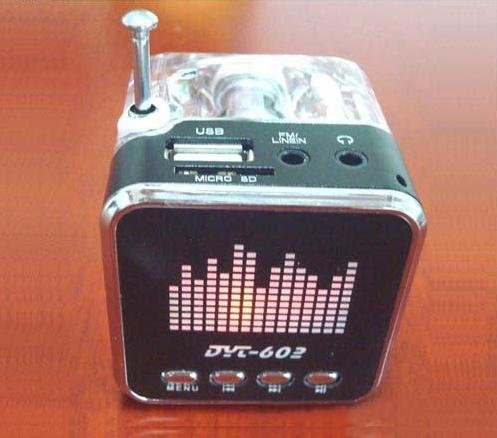 Mini USB Multimedia Speaker Micro SD TF Music Player FM Radio For Laptop MP3 free shipping 10pcs/lot